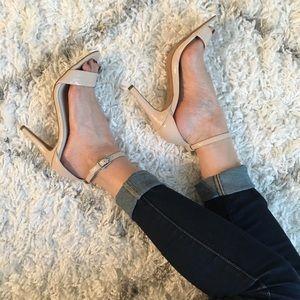ALDO ibenama - Blush. Strapped dress heels, sz 6.5